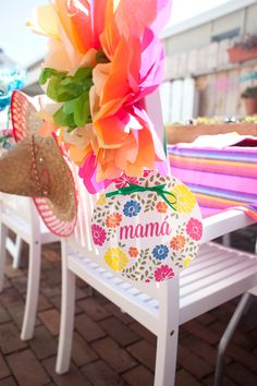 We Heart Parties: Party Information - Allie and Kyle's Fiesta Baby Shower