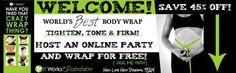 **********ONLINE WRAP PARTY************  Dear Friends:  I am looking for a host of my online party! I will create a group and what i ask of the host is to invite her/his friends to the party. We will schedule a date that works best for everyone and i will answer any question about our products, share photos and give you advice that will help you accomplish your goals.  HOST WILL RECEIVE A FREE WRAP.
