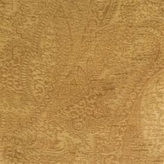Upholstery Fabrics - Paisley - Caramel Paisley Fabric by Trend