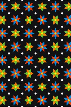 maracatu collection | coordinating pattern | © wagner campelo