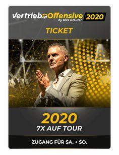 GEBURTSTAGSAKTION! Ticket für kurze Zeit NUR 49 EUR! Die neue Vertriebsoffensive 2020! Ticket, Berlin, Drink Tags, Online Support, Stand Up, Online Marketing, Social Media, Motivation, Catering