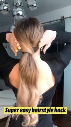 Cool Braid Hairstyles, Easy Hairstyles For Long Hair, Hairstyles Haircuts, Hair Upstyles, Ash Blonde Hair, Glam Hair, Queen Hair, Hair Dos, Gorgeous Hair