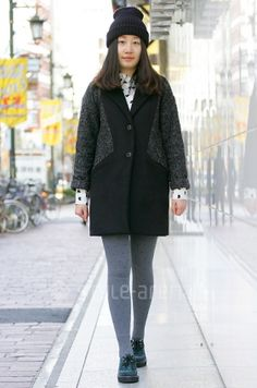 Loving the coat from YG's STYLE -TOKYO STREET STYLE   スタイルアリーナ style-arena.jp