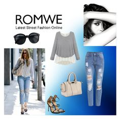 """""""Romwe I/7"""" by m-sisic ❤ liked on Polyvore featuring Current/Elliott and Chanel"""