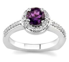 Amethyst Engagement Ring. I just want this to wear as a normal ring.