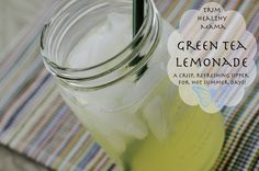 Green Tea Lemonade Sipper (Click on Picture for recipe)