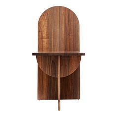 Apollo Walnut Chair | Chairish