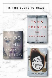 Looking for a good, suspenseful read. We've got you! These 15 thrillers should be on your reading list.