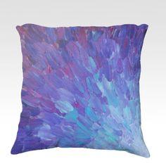 30 x 20 Pillow Sham Purple Plum Lavender Kess InHouse EBI Emporium Beauty in The Rain