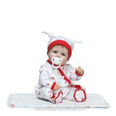 Reborn Baby Doll Eyes Dark Blue 22mm Half Round Acrylic 1 Pair dolls Kits gifts
