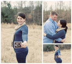 gender reveal maternity photography