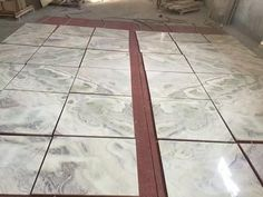 tiles of white marble. cut to siezs--- Dream White White Marble, Tile Floor, Tiles, Flooring, Texture, Crafts, Room Tiles, Surface Finish, Manualidades