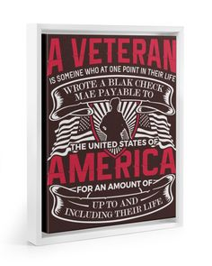 A Veteran America Is Someone Who At One Point - Chocolate military veterans, veterans activities, veterans day displays #veteransday2017 #veteransdaygiveaway #veteransday17, dried orange slices, yule decorations, scandinavian christmas Veterans Day Thank You, Veterans Day Quotes, Veterans Day Gifts, D Day Memorial, Veterans Memorial, Framed Canvas Prints, Canvas Frame, Veterans Day Celebration, Independance Day