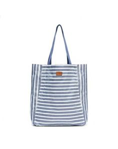 Denim Washed Tote - Summer beach bag from Soludos - Soludos Espadrilles