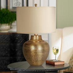 Maison Loft Antique Brass Table Lamp