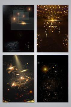 Cool shining lights black gold background image#pikbest#backgrounds