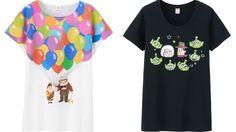 Una collezione di T-Shirt ispirata al tema dell'amicizia by Pixar #graphicdesign #tshirt #customtee #friendship