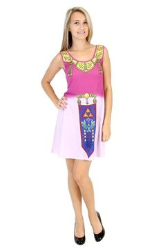 Commemorate your favorite cult classic with an awesome Nintendo The Legend of Zelda Ocarina of Time Costume Tank Dress . Free shipping on Nintendo orders over $50.