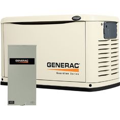 This Generac Guardian Series Standby Generator protects