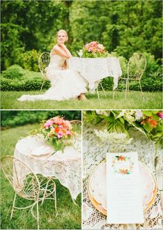 Garden Wedding Flower Favor Ideas