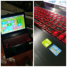 LENOVO Y400 Super GAMING !!! Intel Core i7-3630QM // RAM 8GB // HDD 1 TERRA Intel HD + GeForce GT 750M ( 4GB full )  No Hp : 085 2222 000 27 Pin Bbm : 5b3bad1d