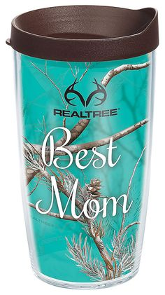 Buy the Tervis Tumbler Best Mom Insulated Wrap With Lid and more quality Fishing, Hunting and Outdoor gear at Bass Pro Shops. Tervis Tumbler, Tumbler Cups, Camo Stuff, Fun Stuff, Jase Robertson, Realtree Camo, Cabin Fever, Browning, Auntie