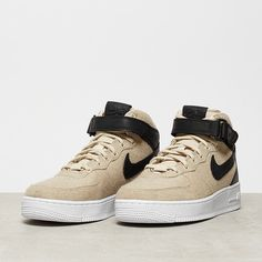 NIKE Air Force 1 07 Mid Leather Premium oatmeal/oatmeal