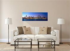 36 Panoramic City Scape Series Chicago Illinois skyline at Dusk 2 Wall Decal Sticker Graphic Home Kids Game Room Office Art mural Decor -- Continue to the product at the image link. (This is an affiliate link) Poster Pictures, Canvas Pictures, Newcastle, Playroom Decor, Bedroom Decor, Nursery Decor, Man Cave Office, Office Art, Skyline Homes