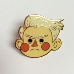 Poor, poor, sweet, angry boy!Just over an inch tall, this hard enamel pin comes with a sturdy rubber clutch!All Friends: Pretty please, double, triple, quadruple check your addresses <3 I can only verify US addresses so please make sure your address is formatted correctly!  Note: 50 characters are allowed per Address 1 and 2 lines.International Friends: Please be aware of your import taxes/duties limits!Also be aware that international shipping can take anywhere betwe...
