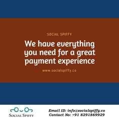 Experience the best #Payment Gateway service through #social_spiffy Website : www.socialspiffy.co Email ID : info@socialspiffy.co #OnlineBusiness #MerchantAccount