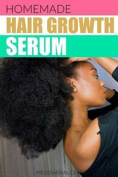 Serum for overnight natural hair growth. #naturalhair #hairgrowth