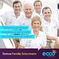 @familiaschurmann #familiaschurmann #veleiro #eccotalentos