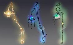 Weapon adopt #1: Lanterns [CLOSED] by Zereshi.deviantart.com on @DeviantArt
