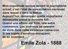 Émile Zola (1888) 2016 rien n'a changé!!!