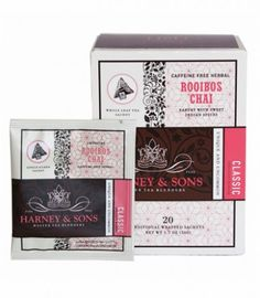 Rooibos Chai from Harney & sons.
