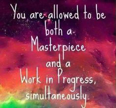 Be both...