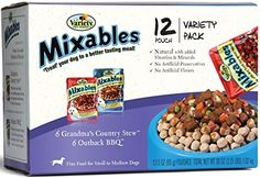 Variety 00077 123Ounce Mixables Beef Lovers Natural Dog Food Includes 6Grandmas Country Stew and 6Outback BBQ 2Pack *** You can find out more details at the link of the image.