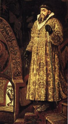 Ivan IV Vasilyevich, also known as ''Ivan the Terrible''. Painting by Viktor Vasnetsov, 1897 #art #history