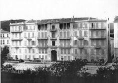La villa AVIGDOR première résidence de l'impératrice Marie Alexandrovna à Nice.  Photo Charles Negre 1865