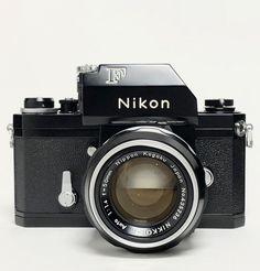 The Classic Camera. The Original Nikon Fs. 35mm Digital Camera, Nikon Film Camera, Camera Nikon, Camera Gear, Nikon F2, Canon Cameras, Canon Lens, Nikon D5100, Vintage Cameras