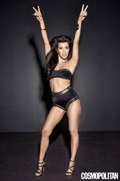 Kourtney Kardashian - Cosmopolitan - October 2016