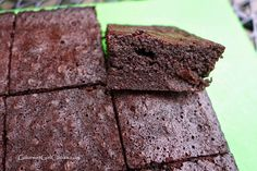 Gourmet Girl Cooks: Bulletproof Fudgy #Brownies - #LowCarb & No Added Sugar, shared via https://facebook.com/lowcarbzen