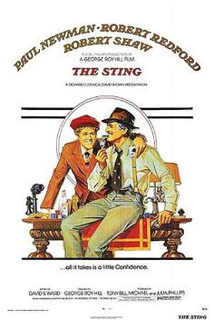 The Sting- Newman and Redford at the peak of their gorgeous-ness! And the movie is great too!!