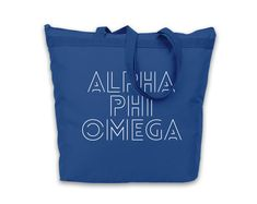 Tote is made of 600 denier polyester for extra durability with vinyl application. Tote measures x x Engraved Tumblers, Alpha Phi Omega, Bid Day, Drink Sleeves, Reusable Tote Bags, Zipper