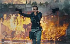 WATCH: Cara Delevingne Shoots Shit Up In Call Of Duty: Black Ops III Trailer - Pedestrian TV