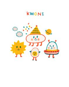 외계외계 - 일러스트레이션 · 파인아트, 일러스트레이션, 파인아트, 디지털 아트, UI/UX Cute Illustration, Character Illustration, Graphic Design Illustration, Kids Logo, Cute Stickers, Sticker Design, Doodle Art, Cute Drawings, Cute Wallpapers