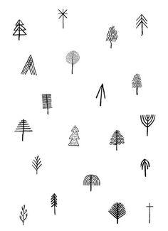 simplistic trees