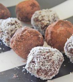 #Vegan Coconut and Lime truffles from @LittleMissMeatFree - Simple to make and would make a great gift