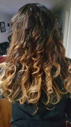 Hombre highlights with a spiral twist. Done by me.