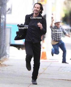 Keeanu Reeves, Keanu Reeves Pictures, Nerd Memes, Keanu Charles Reeves, Have Time, Jogging, Investing, Punk, Actors